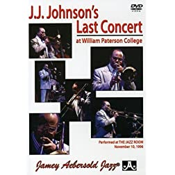 J.J. Johnson's Last Concert