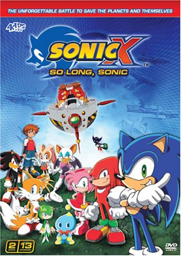 Sonic X - So Long, Sonic (Season 6 Set)