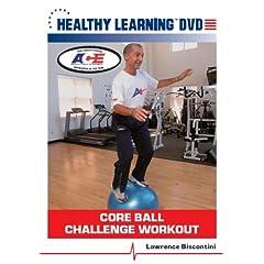 Core Ball Challenge Workout
