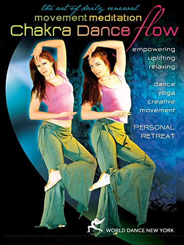 Chakra Dance Flow: Movement Meditation (bellydance, freestyle, guided meditation)