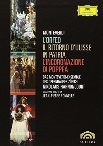 Monteverdi - L'Orfeo, L'Incoronazione di Poppea, Il Ritorno d'Ulisse in Patria (Boxset)