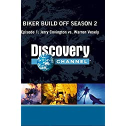 Biker Build Off Season 2 - Episode 1: Jerry Covington vs. Warren Vesely