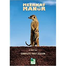 Meerkat Manor The Complete 1st Season (4 DVD set)
