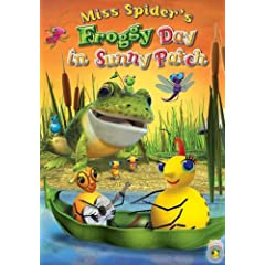 Miss Spider's Froggy Day in Sunny Patch