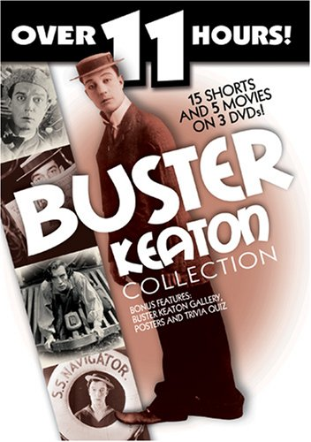Buster Keaton Collection (3pc) (Rmst B&W Dol)