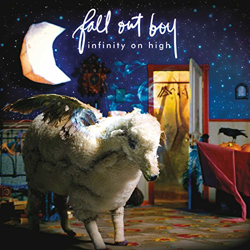 Infinity on High by Fall Out Boy album cover