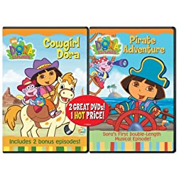 Dora the Explorer - Pirate Adventure / Dora the Explorer - Cowgirl Dora