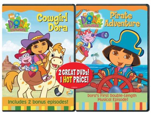 Dora the Explorer - Pirate Adventure / Dora the Explorer - Cowgirl Dora