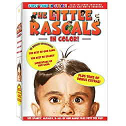 Little Rascals in COLOR! Box Set (3pc)