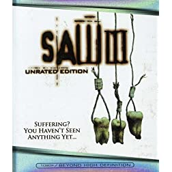 Saw III (Unrated Edition) [Blu-ray]