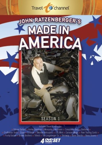 John Ratzenberger's Made in America (4 Disc Set)