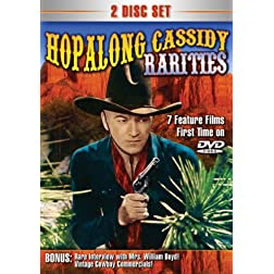 Hopalong Cassidy Rarities 2-DVD
