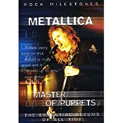 Master of Puppets: Rock Milestones (Dts)