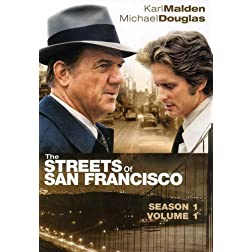 The Streets of San Francisco - Season 1, Vol. 1