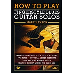 How To Play Fingerstyle Blues Guitar Solos