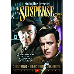 Studio One Presents Suspense (Two Sharp Knives / There Was a Crooked Man)