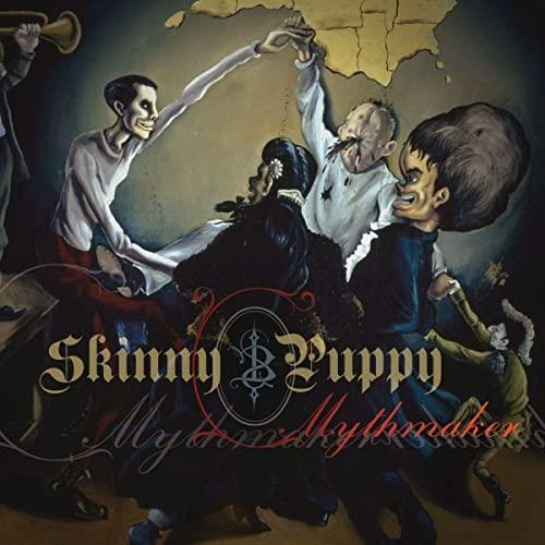 Skinny Puppy Mythmaker Cd The Punk Vault