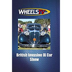 British Invasion IX Car Show