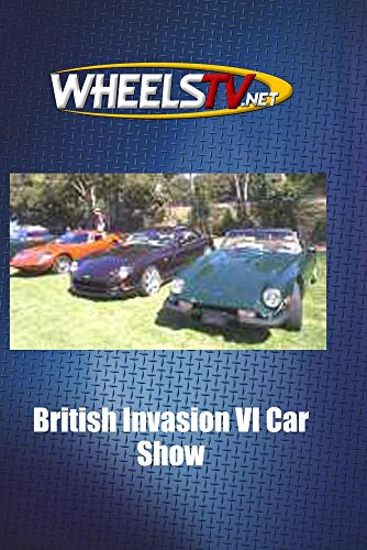 British Invasion VI Car Show