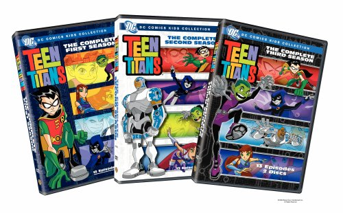 Teen Titans - The Complete First Three Seasons (DC Comics Kids Collection)