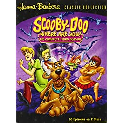 Scooby Doo, Where Are You! - The Complete Third Season
