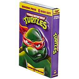 Teenage Mutant Ninja Turtles - Original Series (Season 4) - (5-Disc Set)