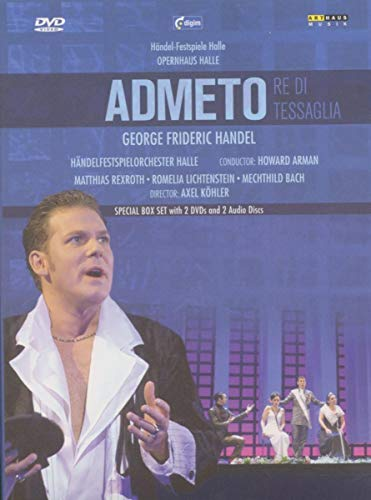 Handel - Admeto (Special Edition with 2 DVDs plus 2 CDs)