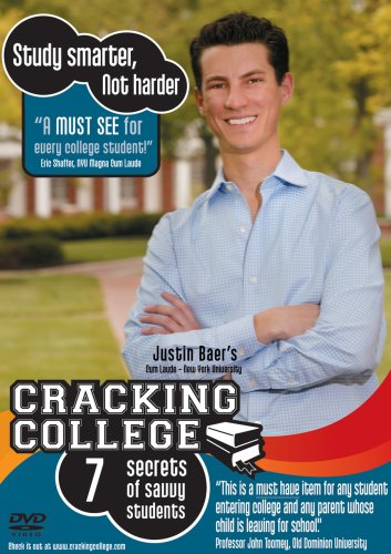 Cracking College: The Seven Secrets of Savvy Students (College Success DVD)