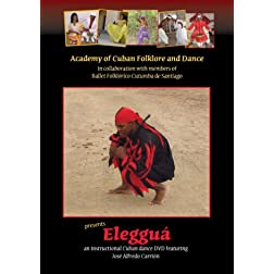 Eleggua - Instructional Cuban dance DVD featuring Jose Alfredo Carrion
