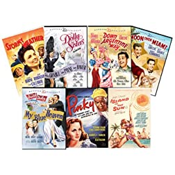 Marquee Musicals Bundle (Pinky / Stormy Weather / Down Argentine Way / Moon Over Miami / My Blue Heaven / Island in the Sun/ The Dolly Sisters)
