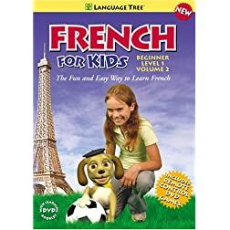 French for Kids: Learn French with Penelope and Pezi Beginner Level 1 Vol. 2