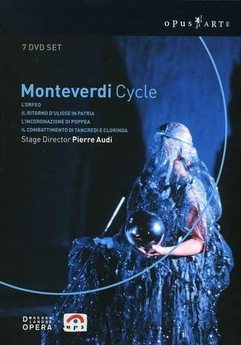 Monteverdi - L'Orfeo, L'Incoronazione di Poppea, Il Ritorno d'Ulisse in Patria, Il Combattimento di Tancredi e Clorinda (Boxset)
