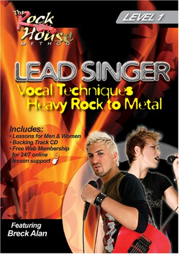 Lead Singer Vocal Techniques Heavy Rock to Metal Level 1