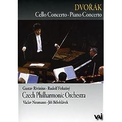 Dvorak: Piano & Cello Concerto
