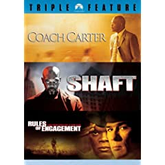 Samuel L Jackson Ultimate Collection (Coach Carter / Shaft / Rules of Engagement)