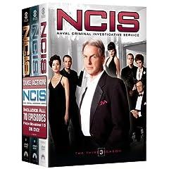NCIS Naval Criminal Investigative Service - The Complete Seasons 1-3