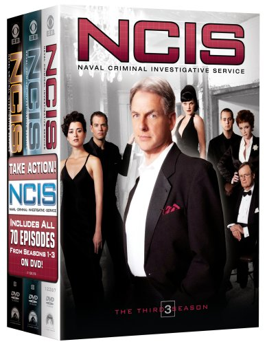 NCIS Naval Criminal Investigative Service - The Complete Seasons 1-3