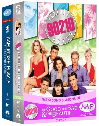 The Good, the Bad & the Beautiful Pack 2 (Beverly Hills, 90210 - The Complete Second Season / Melrose Place - The Complete Second Season)