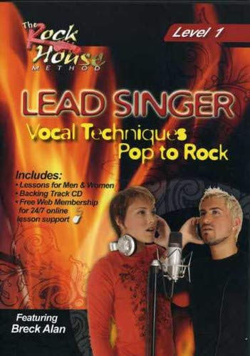 Lead Singer Vocal Techniques Pop to Rock Level 1