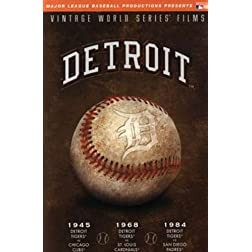 MLB Vintage World Series Films - Detroit Tigers 1945, 1968 & 1984