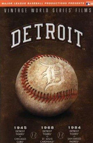 MLB Vintage World Series Films - Detroit Tigers 1945, 1968 & 1984