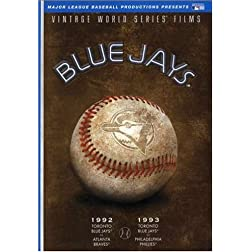 MLB Vintage World Series Films - Toronto Blue Jays 1992 & 1993