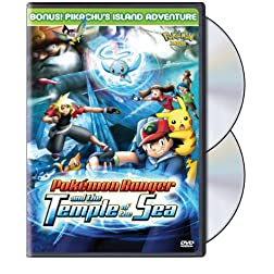 Pokemon Movie - Pokemon Ranger and the Temple of the Sea