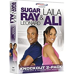 Sugar Ray Leonard & Laila Ali: Knockout Two-Pack