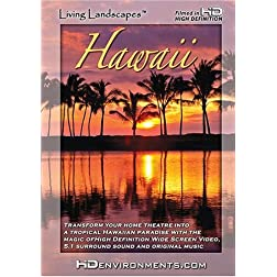 Living Landscapes HD Hawaii (Standard Definition Version)