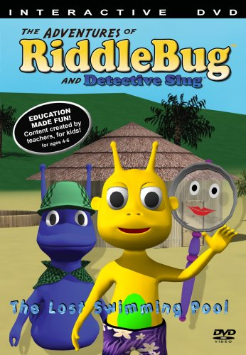 The Adventures of RiddleBug and Detective Slug  Interactive DVD