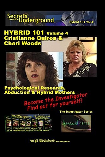 Secrets from the Underground volume 4 Cristianne Quiros & Cheri Woods