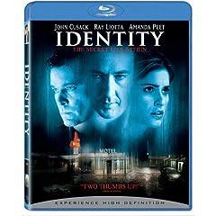 Identity [Blu-ray]