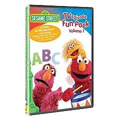 Sesame Street - TV Episode Fun Pack, Vol. 1