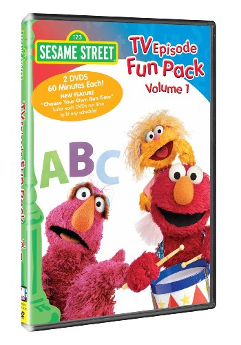 Sesame Street - TV Episode Fun Pack, Vol. 1